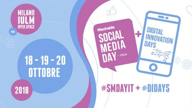 Radio IULM media partner di Mashable Social Media Day. L'evento dal 18 al 20 ottobre