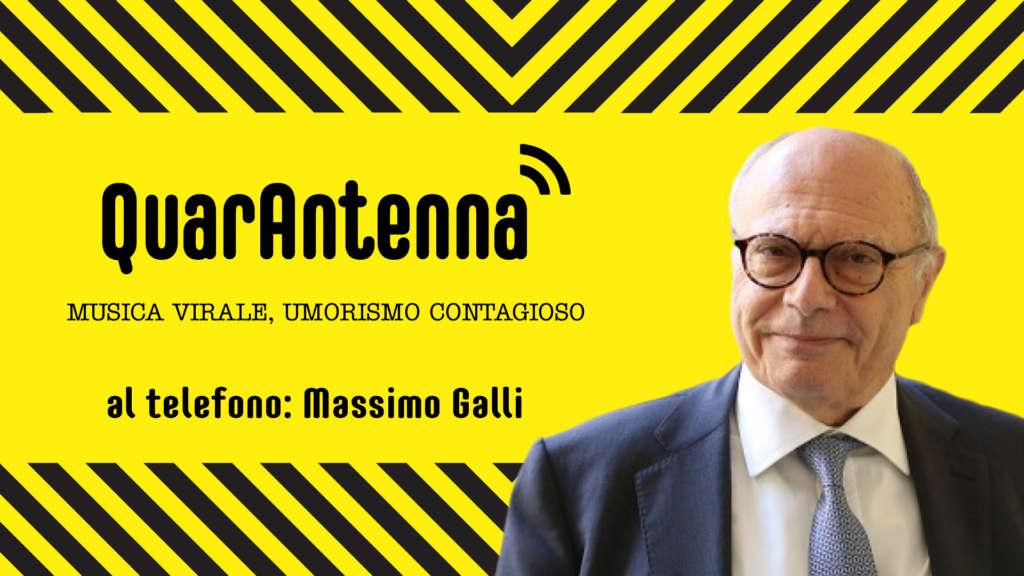 QuarAntenna: Covid-19 con il Prof. Massimo Galli