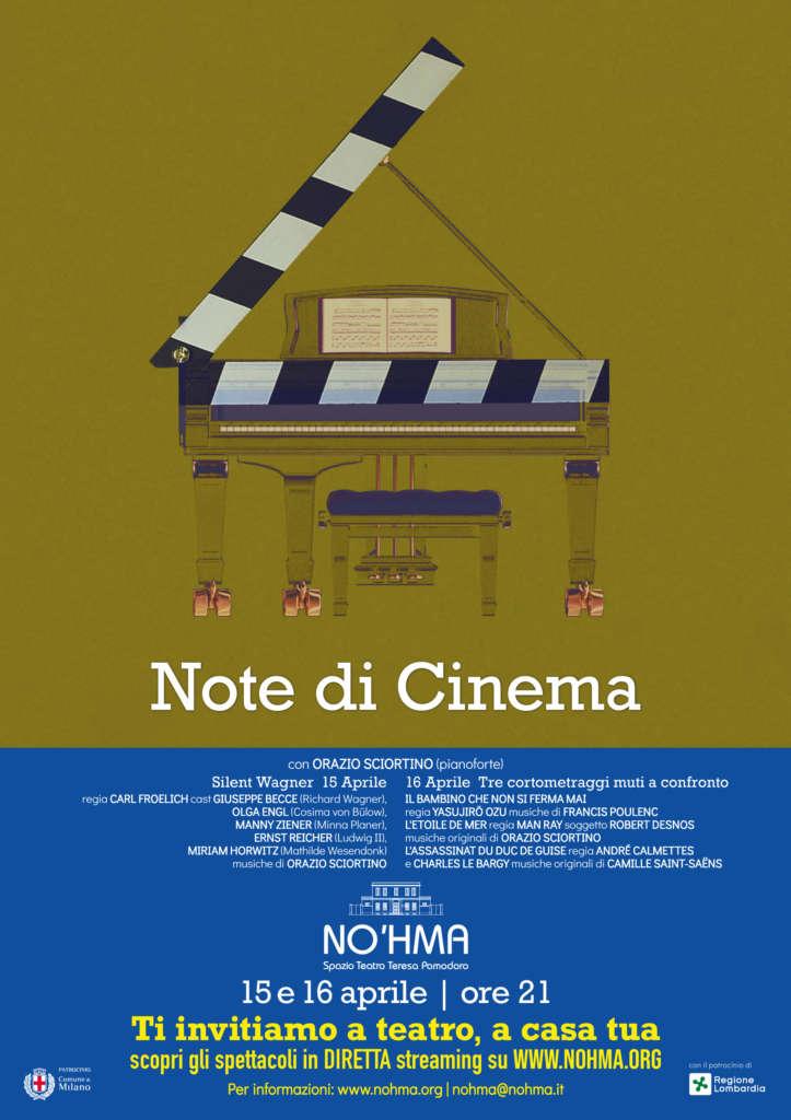 Note di Cinema: musica e cinema al teatro Noh'ma