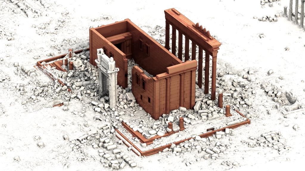 Oltre i confini della pandemia: turismo e attualità in Siria. Ricostruzione 3D del tempi di Bel Palmira