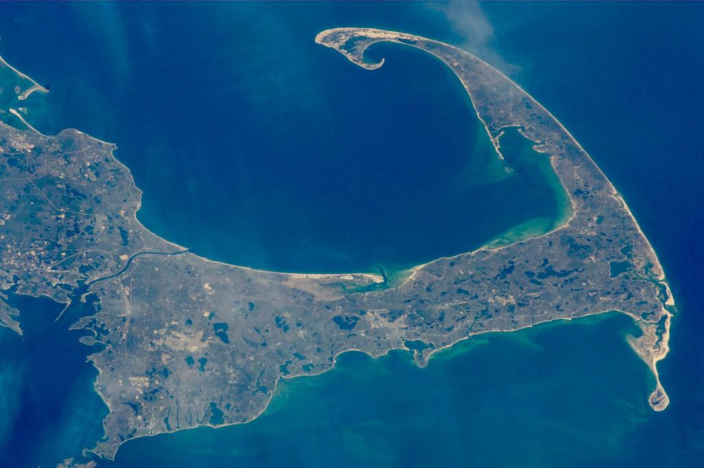 Oltre i confini della pandemia Cape Cod dall'alto