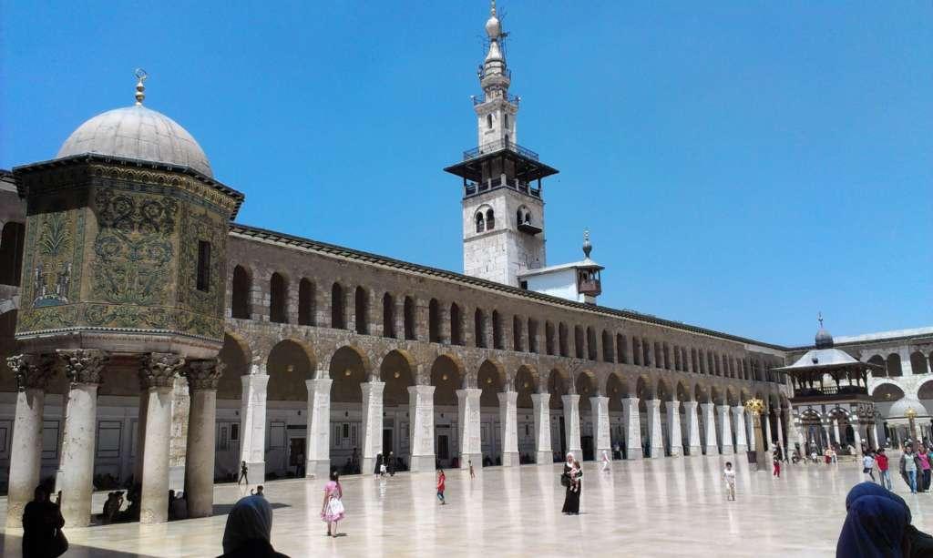 Oltre i confini della pandemia: turismo e attualità in Siria. Moschea degli Omayyadi, Damasco