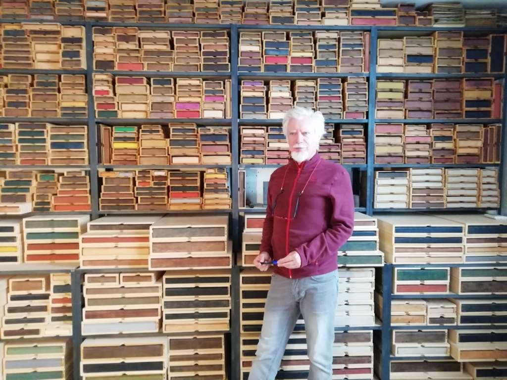 Miguel Angel Blanco e la sua Biblioteca del Bosque